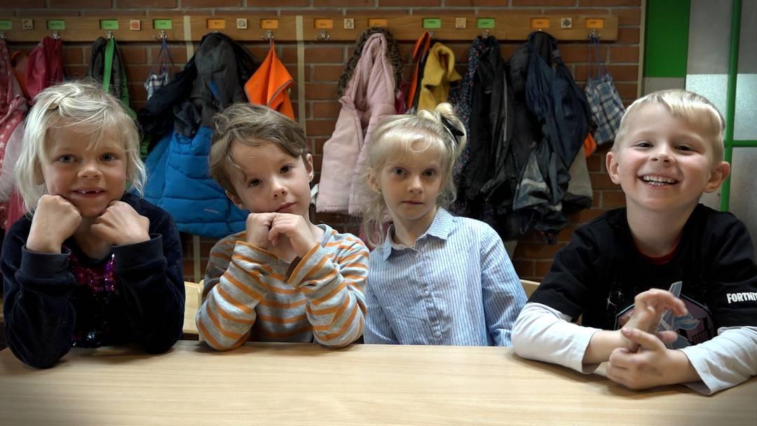 «Haseschoggi, igitt» – Kindergärtler über Hasen, Eier und gute Verstecke