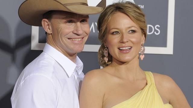 Jewel mit ihrem Mann Ty Murray