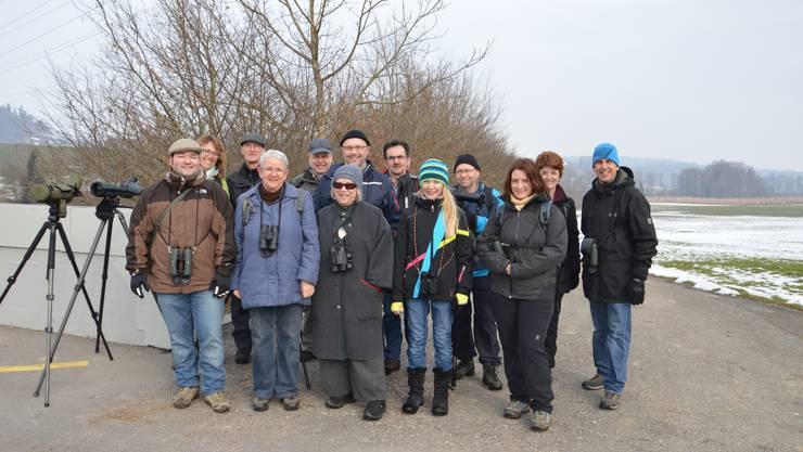 Die Teilnehmer der Vereinsexkursion