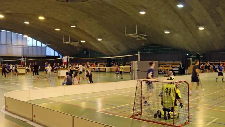 Sportnight im CIS Solothurn