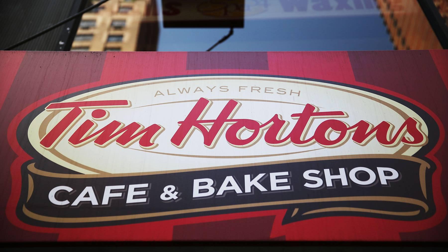Im Tim Hortons gibt es süsse Leckereien, Fast-Food und haufenweise Kaffee.