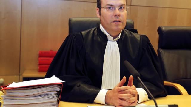 Gerichtspräsident Nicolas Leger am Montag in Rennes