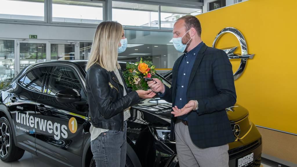 Emil Frey Zentralschweiz unterstützt das Tele 1 mit Elektromobilität