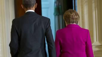 Obama und Merkel: Transatlantische Einheit gegenüber Russland?