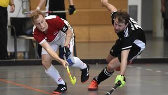 Rotweiss-Captain Marco Michel (l.) will sein Team zum nächsten Titel führen.