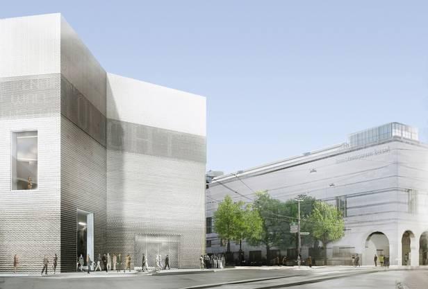 So soll das erweiterte Kunstmuseum Basel aussehen