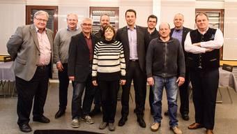 Der Vorstand des neuen Zweckverbandes (von links): Reto Vescovi, Urs Ledermann (Subingen), Bruno Meyer Etziken), Peter Gehrig (Recherswil), Rita Mosimann (Vizepräsidentin, Biezwil), Martin Rüfenach (Präsident, Horriwil), André Wyniger (Derendingen), Patrick Schibler (Gerlafingen), Markus Dick (Biberist, ohne Stimmrecht) und Roger Siegenthaler (Lüterkofen-Ichertswil).