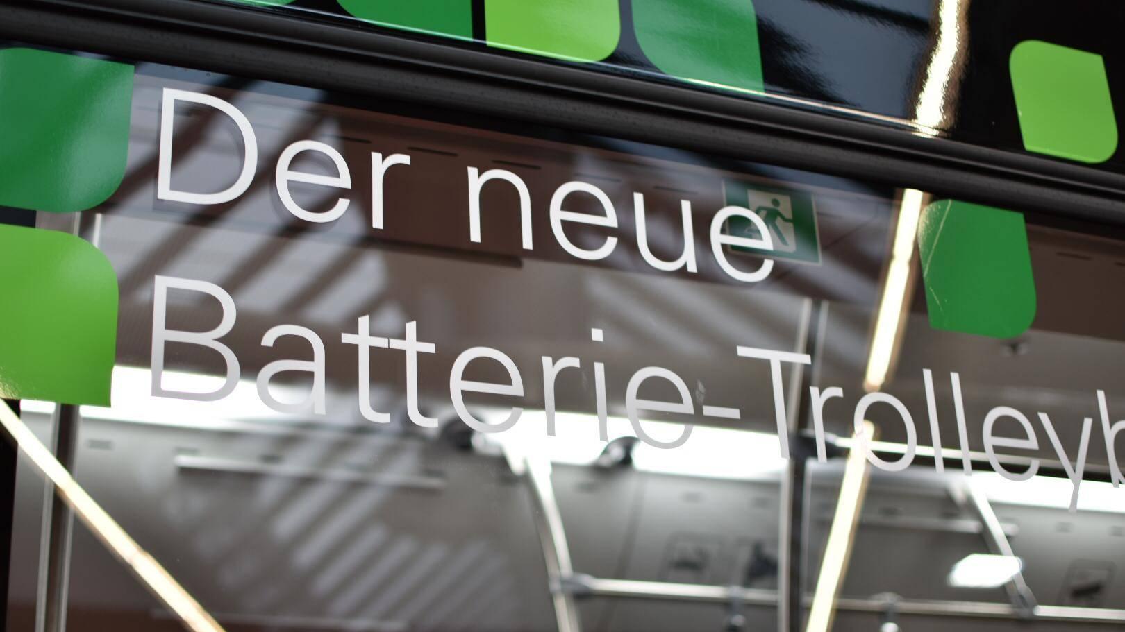 Batterie Trolleybus St.Gallen