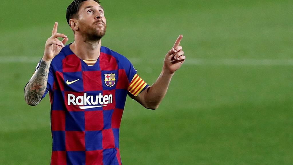 25 Tore in «La Liga»: Lionel Messi ist zum vierten Mal in Serie Torschützenkönig in Spanien
