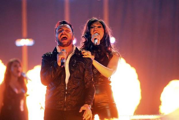 Paula Seling und Ovi singen Rumänien mit «Playing With Fire» ins Final.