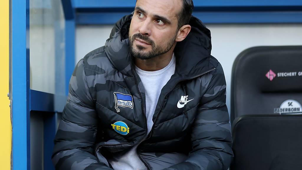 Hertha Berlin nur noch bis Ende Saison mit Trainer Nouri