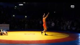 Ringer Pascal Strebel setzte sich für Wettkampf auf Extremdiät