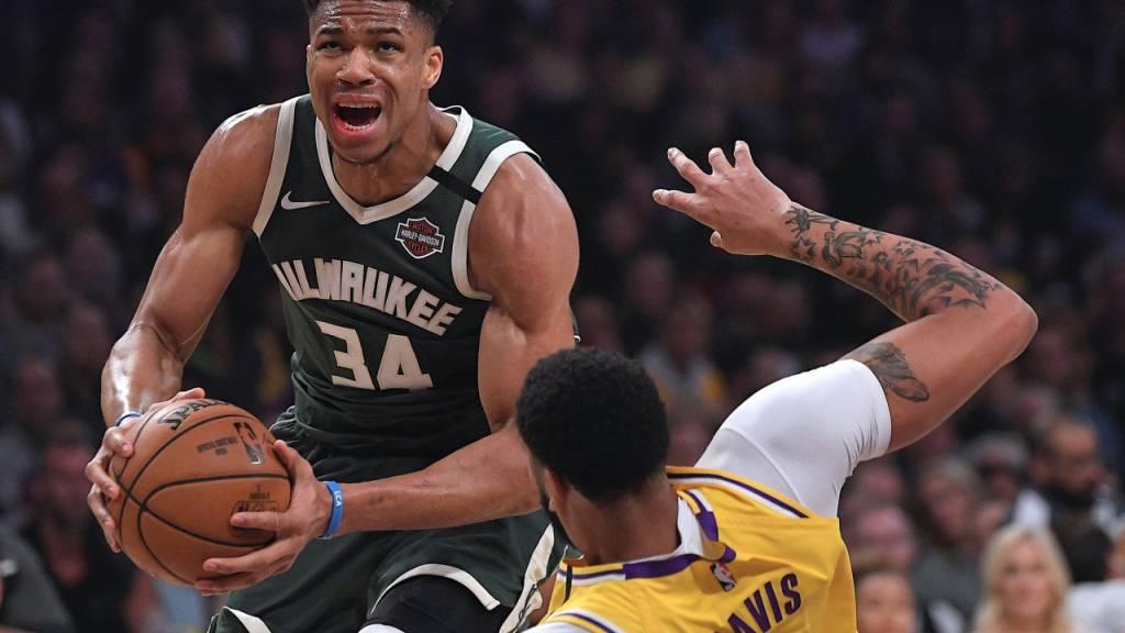 Social-Media-Accounts von NBA-Star Antetokounmpo gehackt