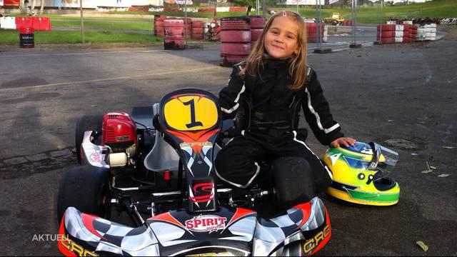 11-jährige Freiämterin momentan Schweizer Nr. 1 beim Go-Kart