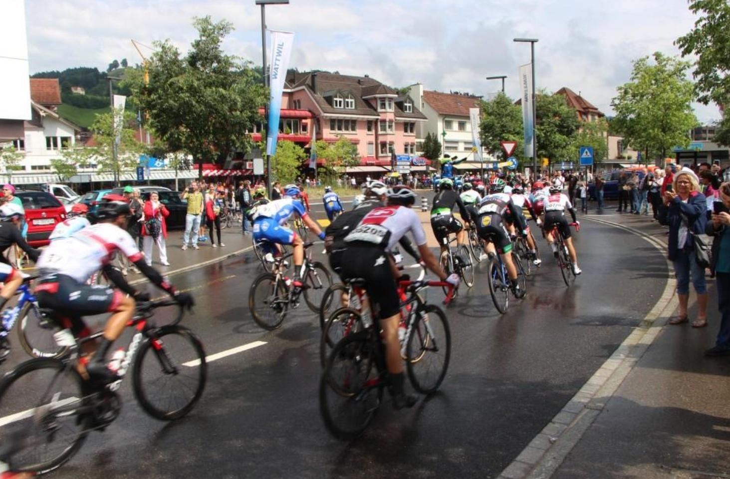 Die sechste Etappe führte durch Wattwil. (Bild: FM1Today/Krisztina Scherrer)