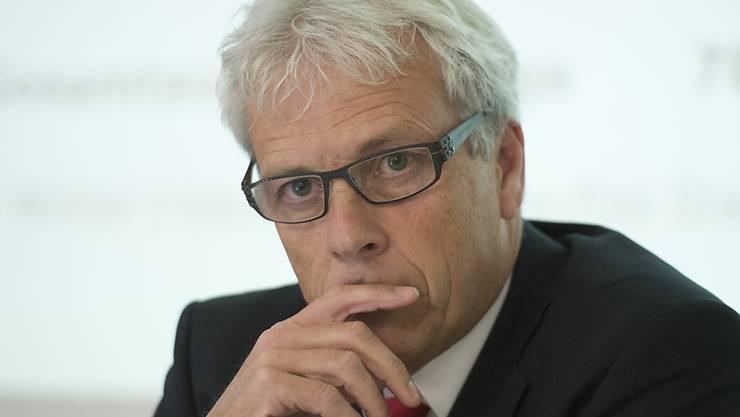 Tritt nach knapp fünf Jahren als Nationalliga-Direktor ab: Ueli Schwarz