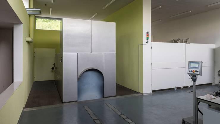 Seit dem Ausbruch der Pandemie werden im Krematorium Baden keine Aufbahrungen mehr durchgeführt. (Archivbild, 2018)