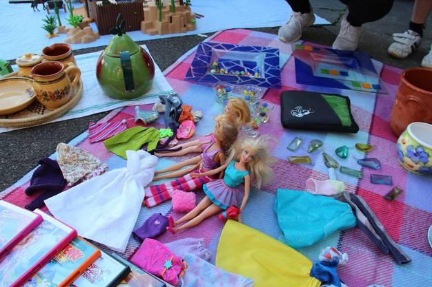Die Mädchenspielsachen verkauften sich besonders gut.