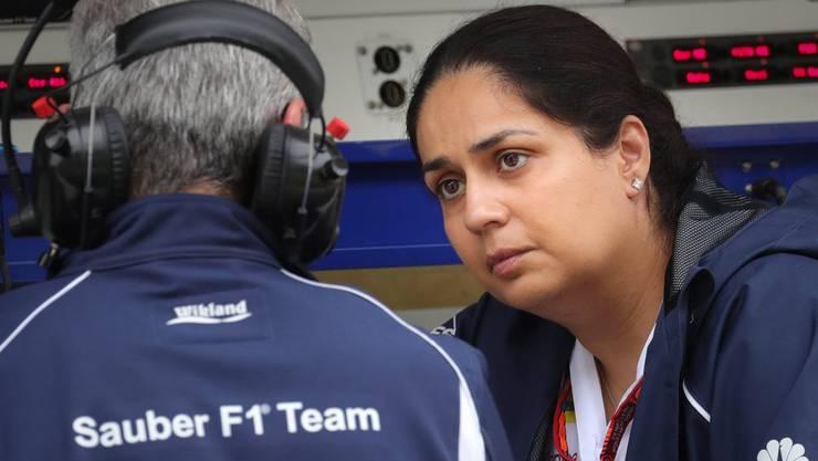 Monisha Kaltenborn ist nicht mehr Teamchefin von Sauber.
