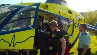 Im zweiten Teil der Serie begleiten wir die Crew der AAA Alpine Air Ambulance bei der Rettung eines 47-Jährigen Mannes mit Verdacht auf Hirnschlag.