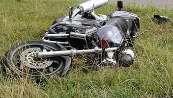Motorradfahrer leben nach wie vor gefährlich (Archiv)
