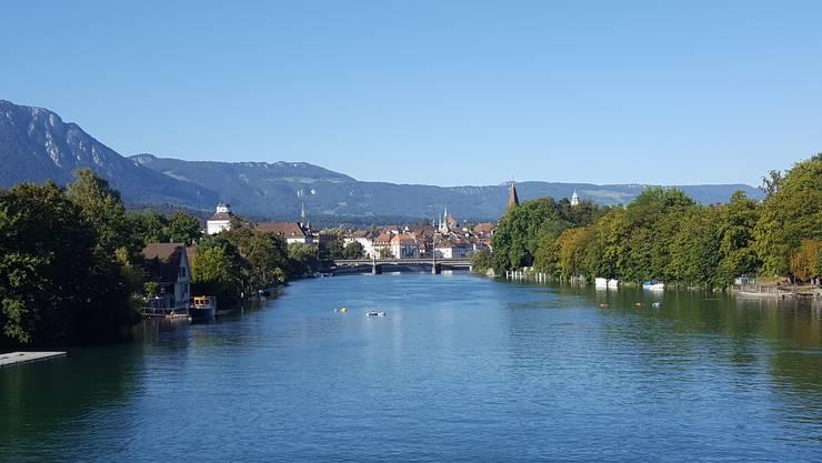 Solothurn – nicht nur, aber vor allem bei Sonnenschein schön!
