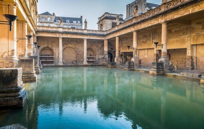 «Great Spa of Europe»: Das Römische Bad im südenglischen Bath.
