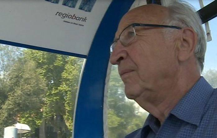 Aareschiff «MS Rousseau» läuft auf Grund: Erwin Minder rettete die Passagiere