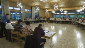 Versammlung des Grossen Gemeinderats in Langnau