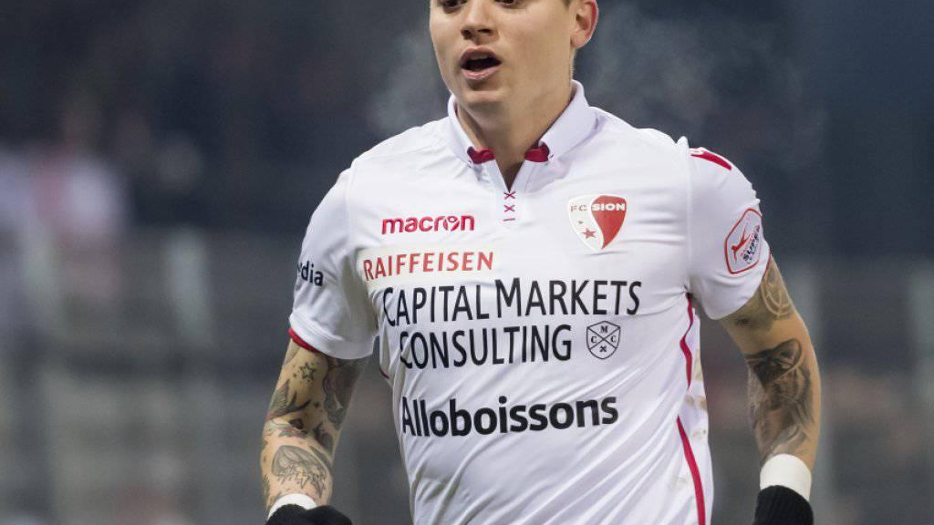 Adryan war Doppeltorschütze gegen Luzern und damit Sions Matchwinner