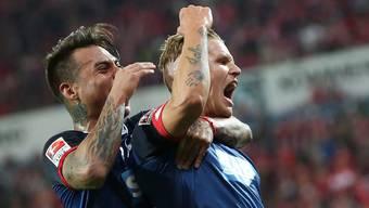 Hoffenheimer Torjubel (wie hier nach dem 1:0 gegen Mainz) war bislang in dieser Saison eine Seltenheit