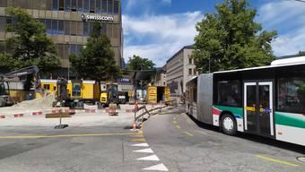 Wo der Bus durchfahren wird, ist noch offen.