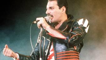 """Rund 27 Jahre nach dem Tod von Queen-Sänger Freddie Mercury ist der Song """"Bohemian Rhapsody"""" der am häufigsten gestreamte Song des 20. Jahrhunderts. (Archivbild)"""
