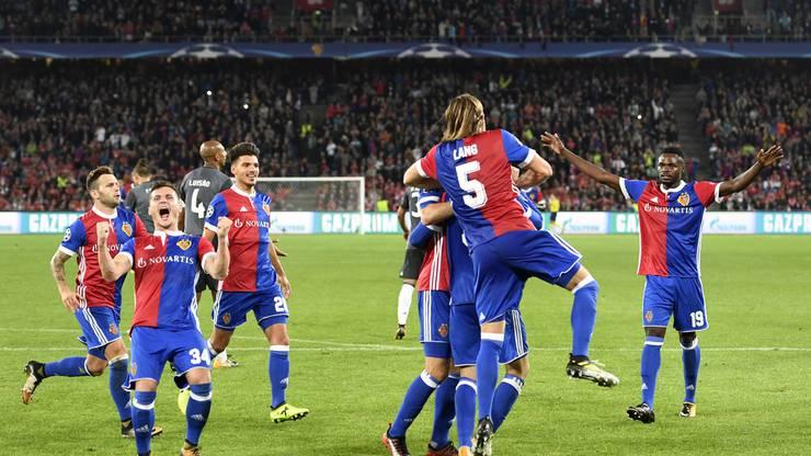 Grandiose Leistung des FCB am heutigen Abend