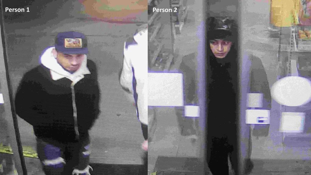Polizei veröffentlicht unverpixelte Bilder von Dieben