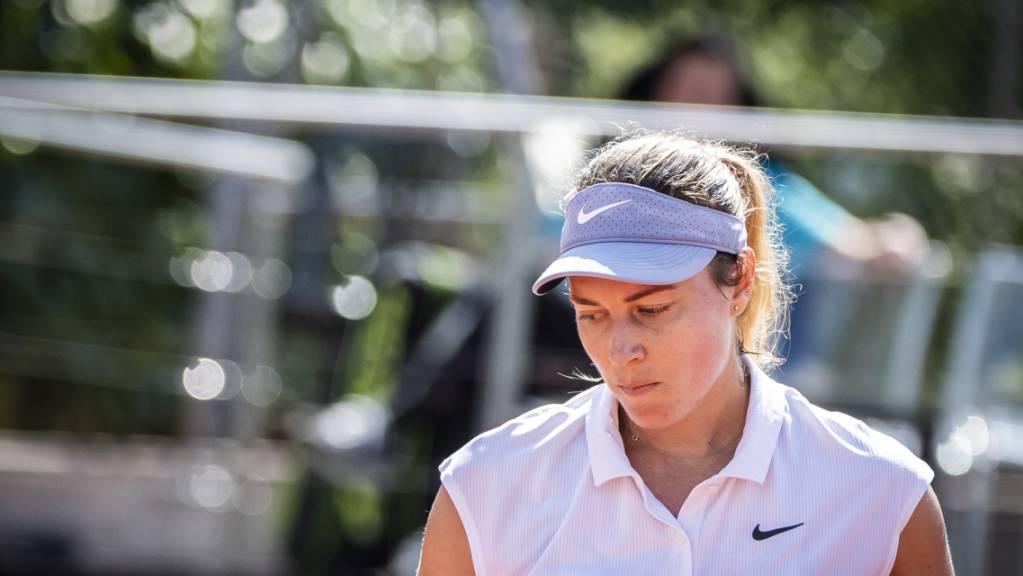 Stefanie Vögele kämpfte sich gegen die als Nummer 4 gesetzte Alexandrowa stark zurück, zog am Ende aber doch den Kürzeren.