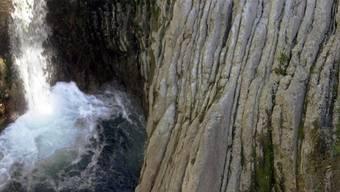 Blick auf einen Teil der Schlucht bei Breggia (Symbolbild)