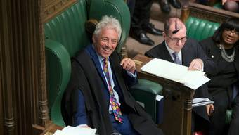 John Bercow ist seit 2009 «Speaker of the House».