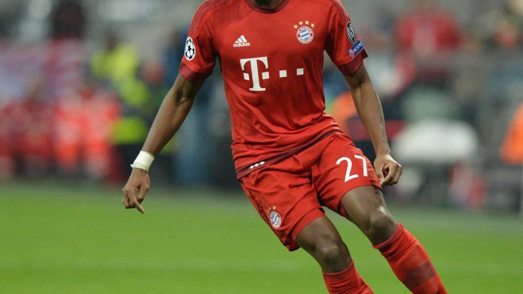 Bis 2021 bei den Bayern: der Österreicher David Alaba