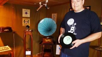 Grammophon-Ausstellung im Museum Wasseramt in Halten