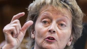 Finanzmininisterin Eveline Widmer-Schlumpf (Archiv)
