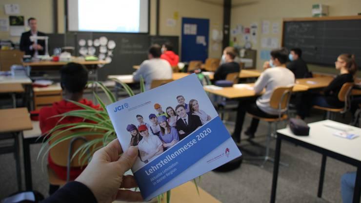 Orientierung per Büchlein statt an Lehrstellenmesse.