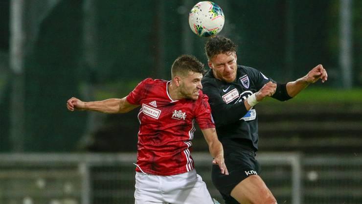 Im Hinspiel musste sich der FC Aarau gegen Lausanne-Ouchy mit einem 1:1 begnügen.