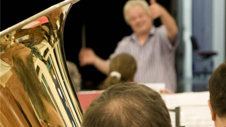 Dirigent Daniel Vauthey ist zufrieden mit dem Ad-hoc-Orchester. FSC