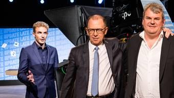 Michael Elsener oder seine Vorgänger Viktor Giacobbo und Mike Müller.