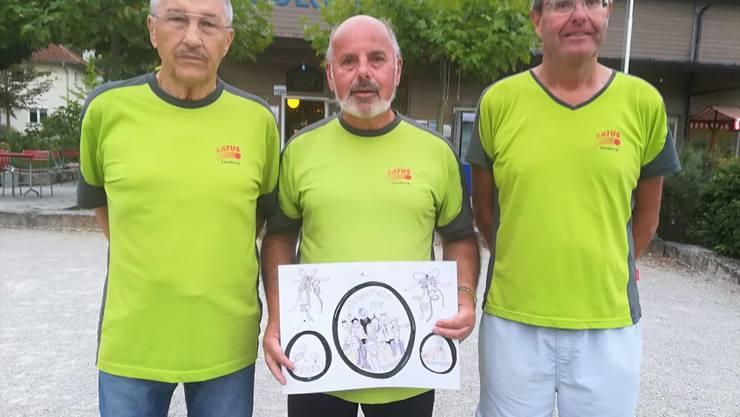 Bruno Suter, Roland Berner, André Bircher