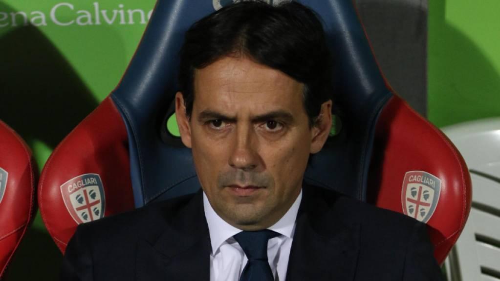Trainer Simone Inzaghi befindet sich mit Lazio in der Serie A weiter im Hoch
