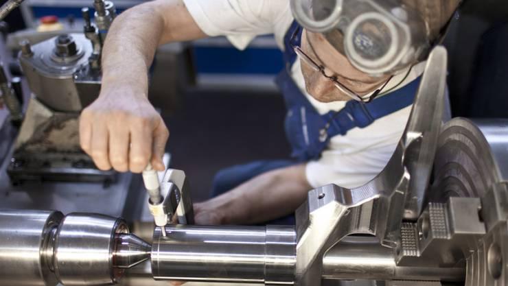 Der Schweizer Maschinenindustrie geht es wieder besser. (Archiv)