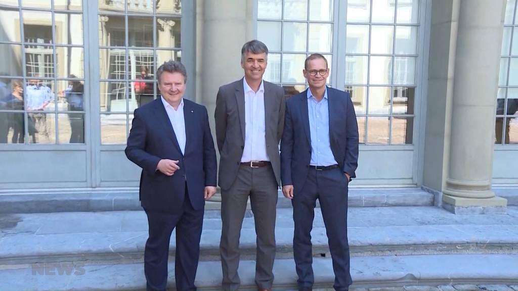 Bern rollt den roten Teppich aus für Berlin und Wien