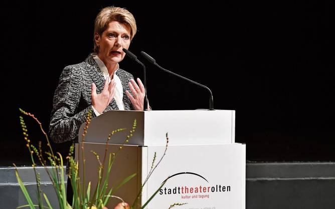 Auch im «Swing State» Solothurn trat KKS auf, hier auf Einladung der Handelskammer. .
